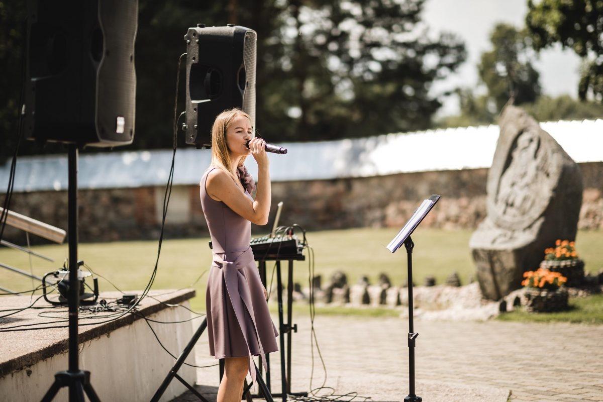 Klasikinę muziką dievinanti scenos princesė užburia klausytojų širdis