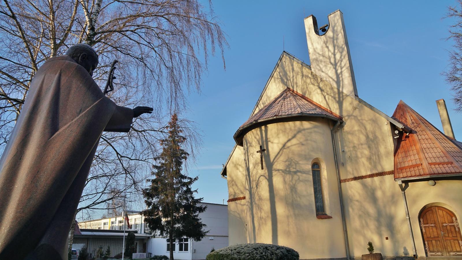Kasdien iš Šv. Ignaco Lojolos bažnyčios teikiamas palaiminimas