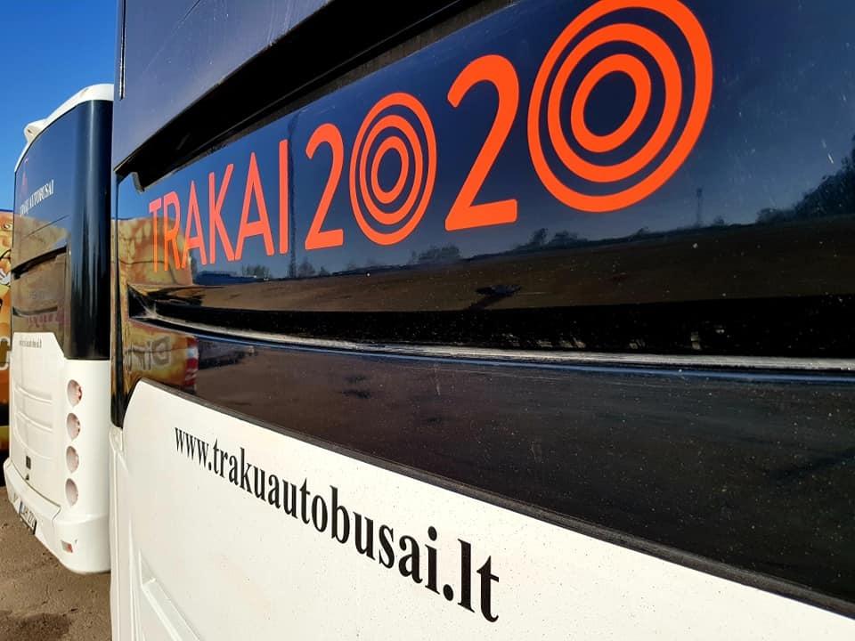 """""""Trakų autobusai"""": transporto paslaugos karantino metu"""