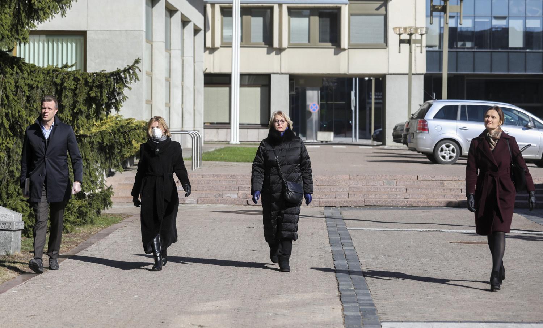Seimo valdyba prašo Teisės ir teisėtvarkos komiteto išvados dėl krizės suvaldymo