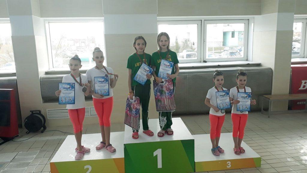 Varžybose Baltarusijoje - apdovanojimai šiaulietėms