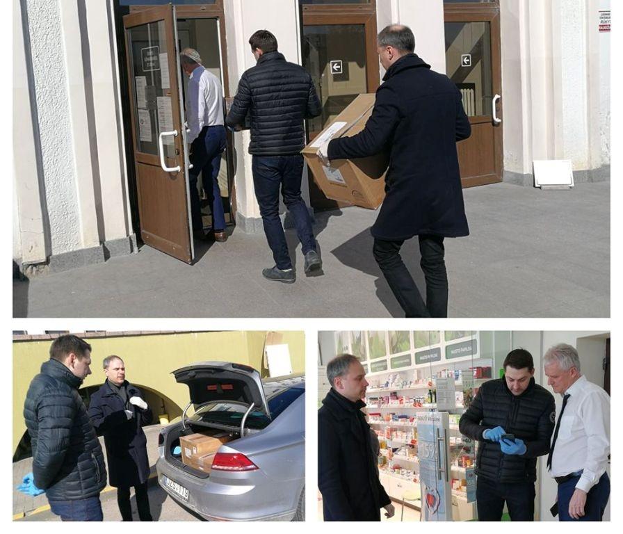 Medikams skirta parama pasiekė Šiaulių ligoninę