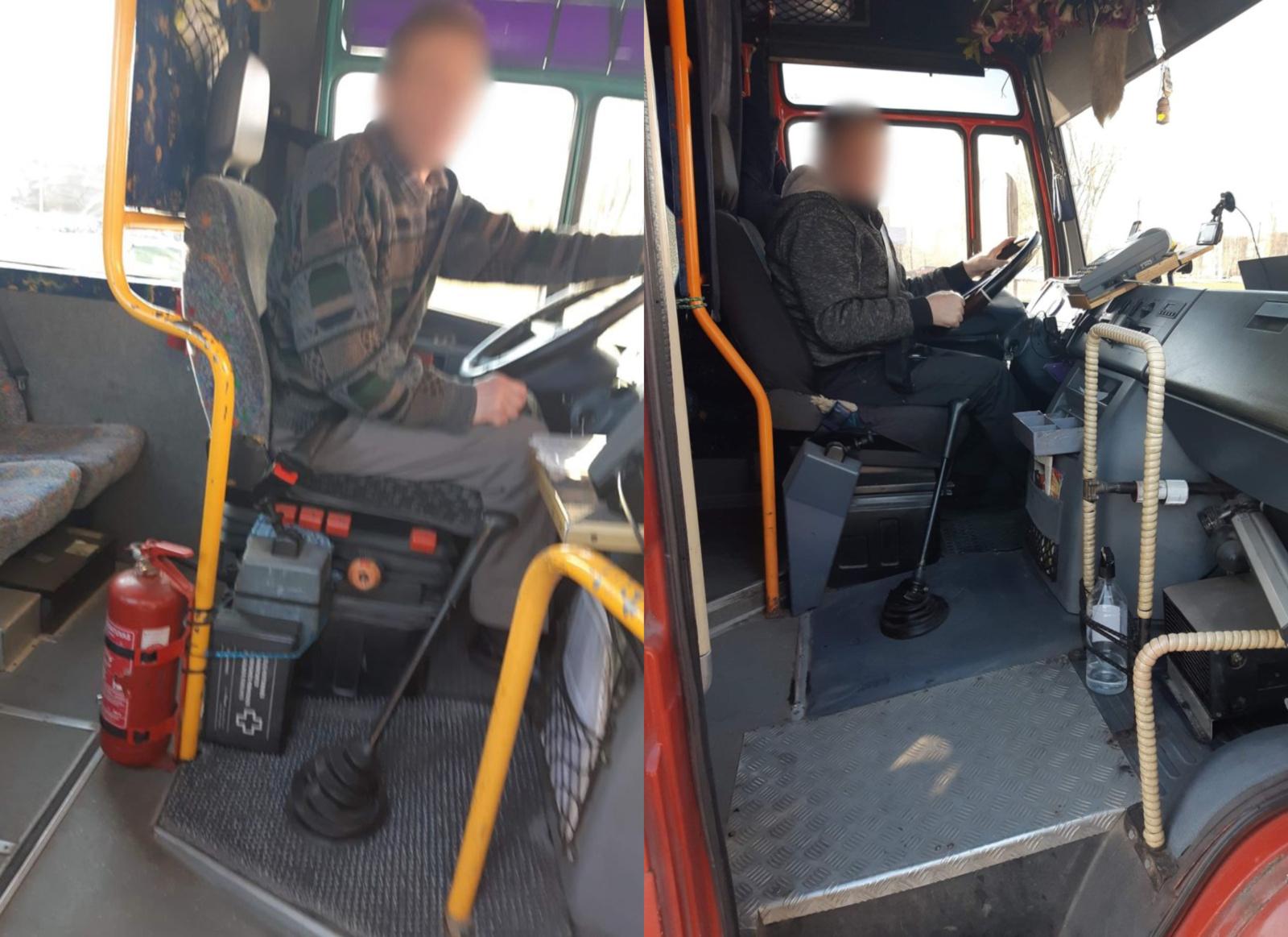 Autobusų parke užfiksuoti pažeidimai