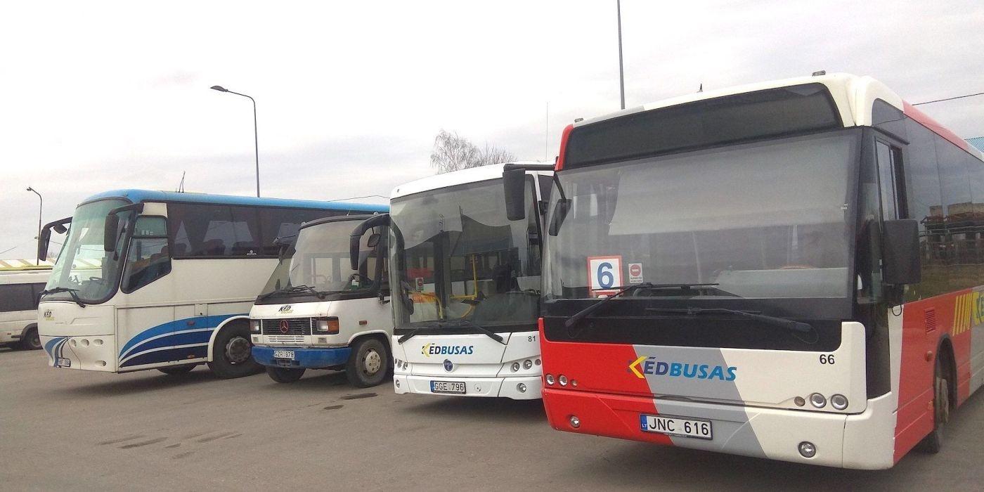 Kėdainiuose labai sumažėjo viešojo transporto keleivių