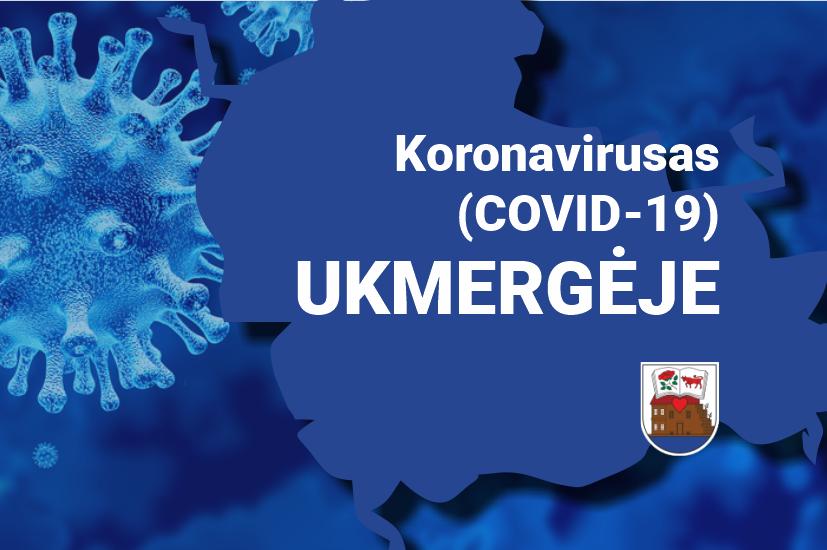 Ukmergėje patvirtinta 19 koronaviruso atvejų
