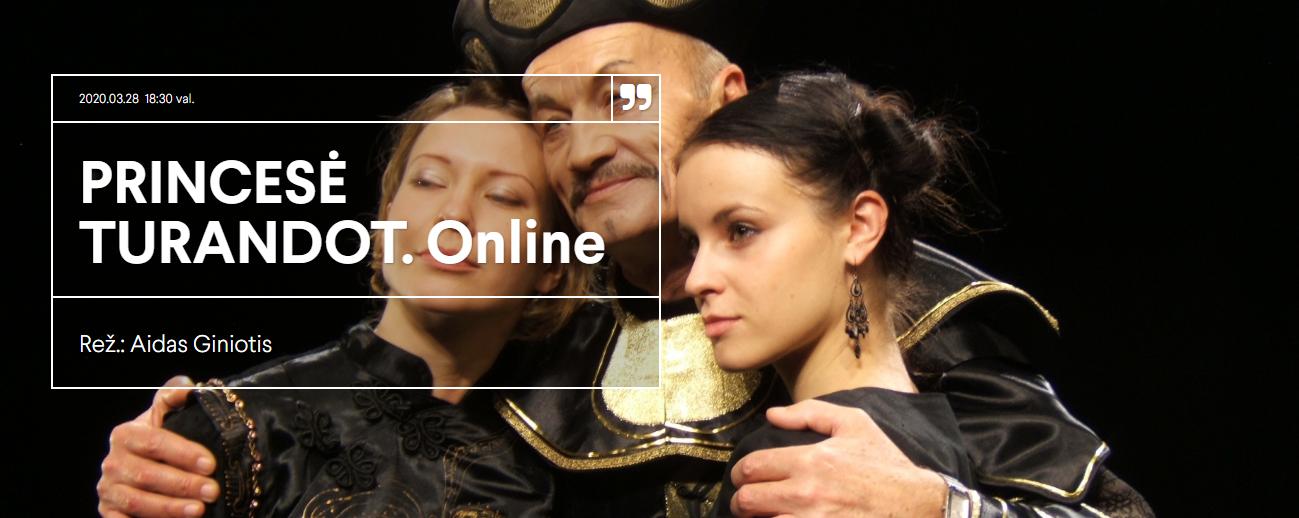 """TIESIOGIAI per Etaplius.lt:  Aido Giniočio režisuotas spektaklis – Karlo Gocio """"Princesė Turandot"""""""