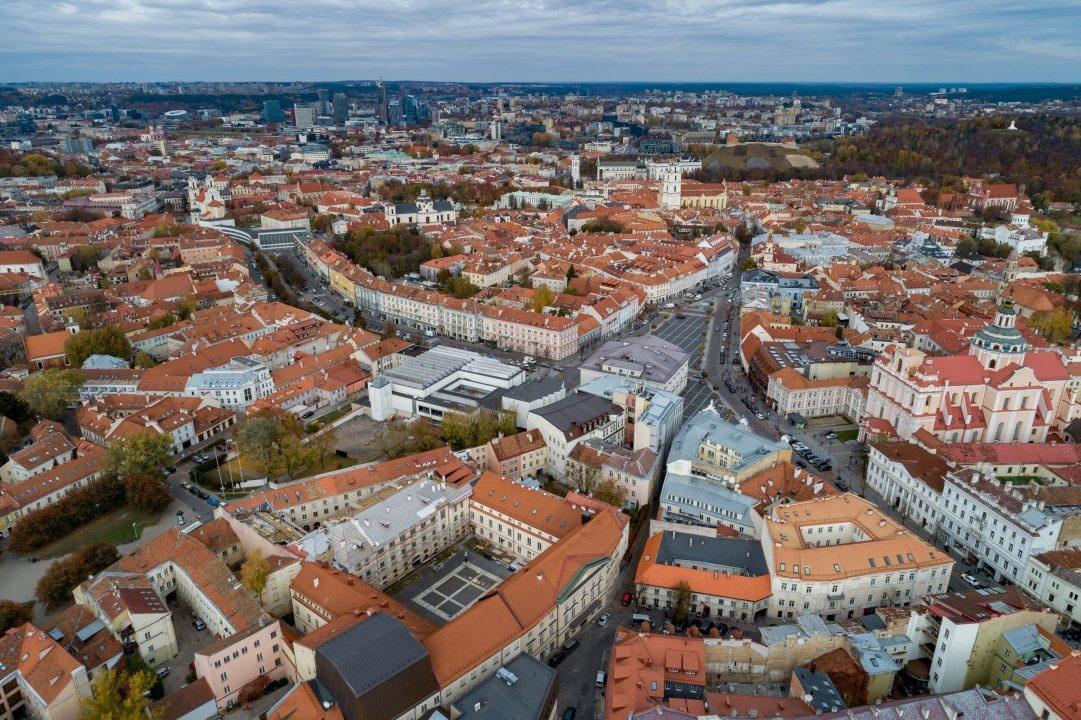 Vilniaus miesto savivaldybė ruošiasi rekonstruoti Vokiečių gatvę