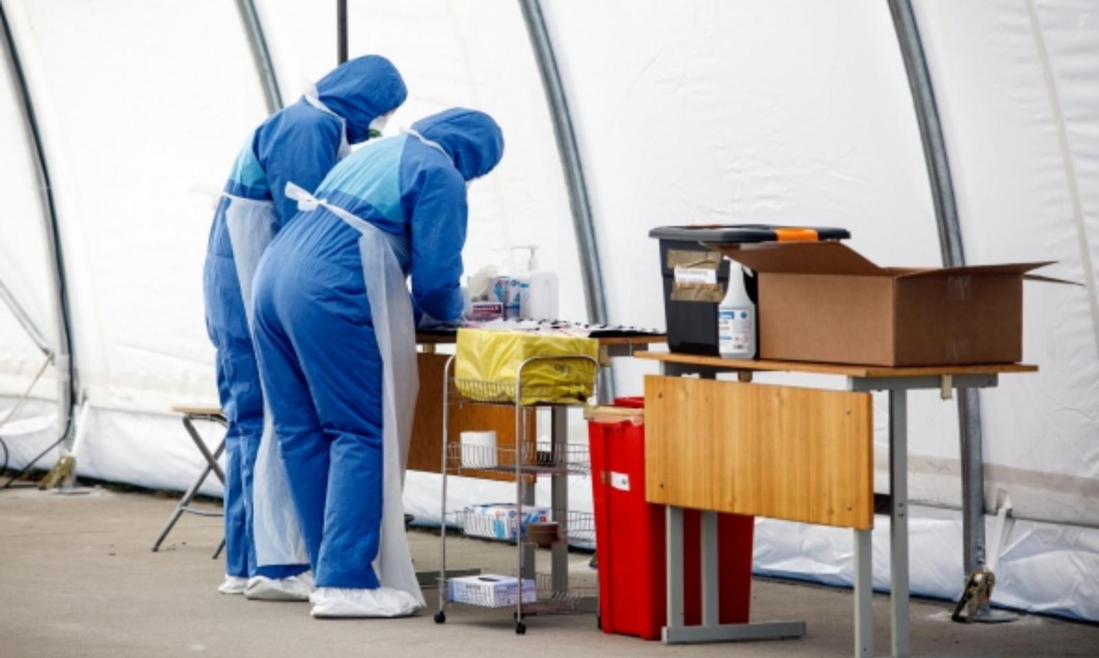Dėl koronaviruso intensyviau testuojami Radviliškio rajono savivaldybės gyventojai