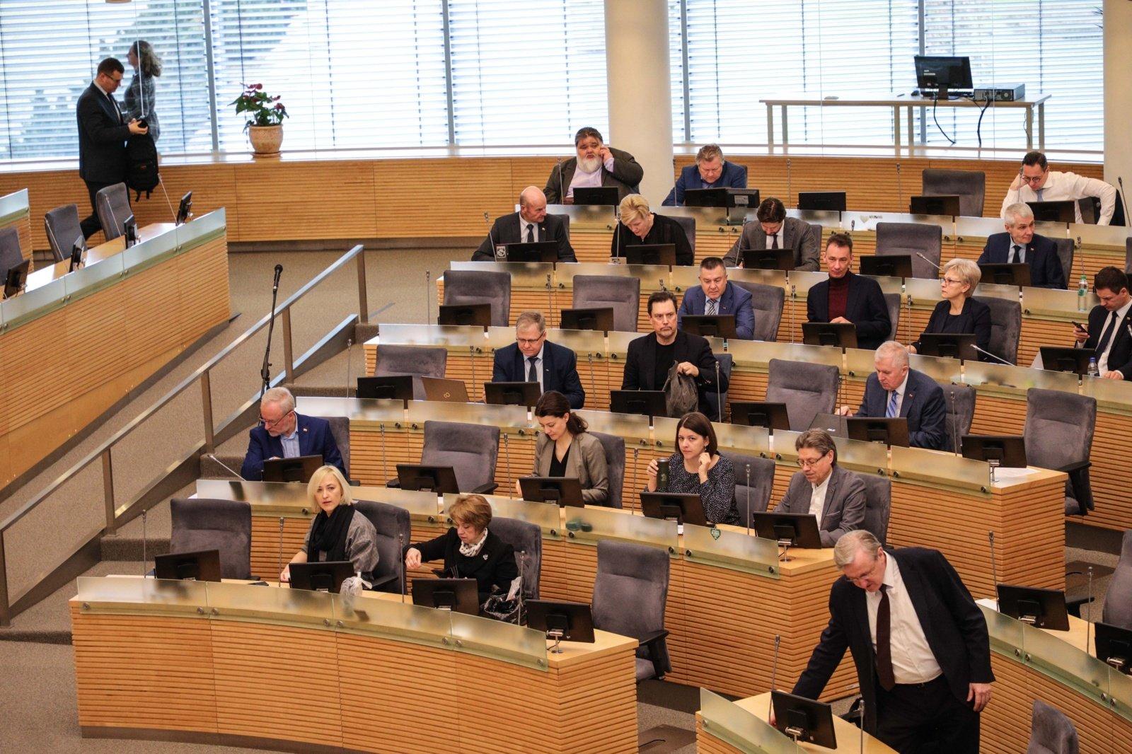 Patvirtinti Seimo komitetų vadovai