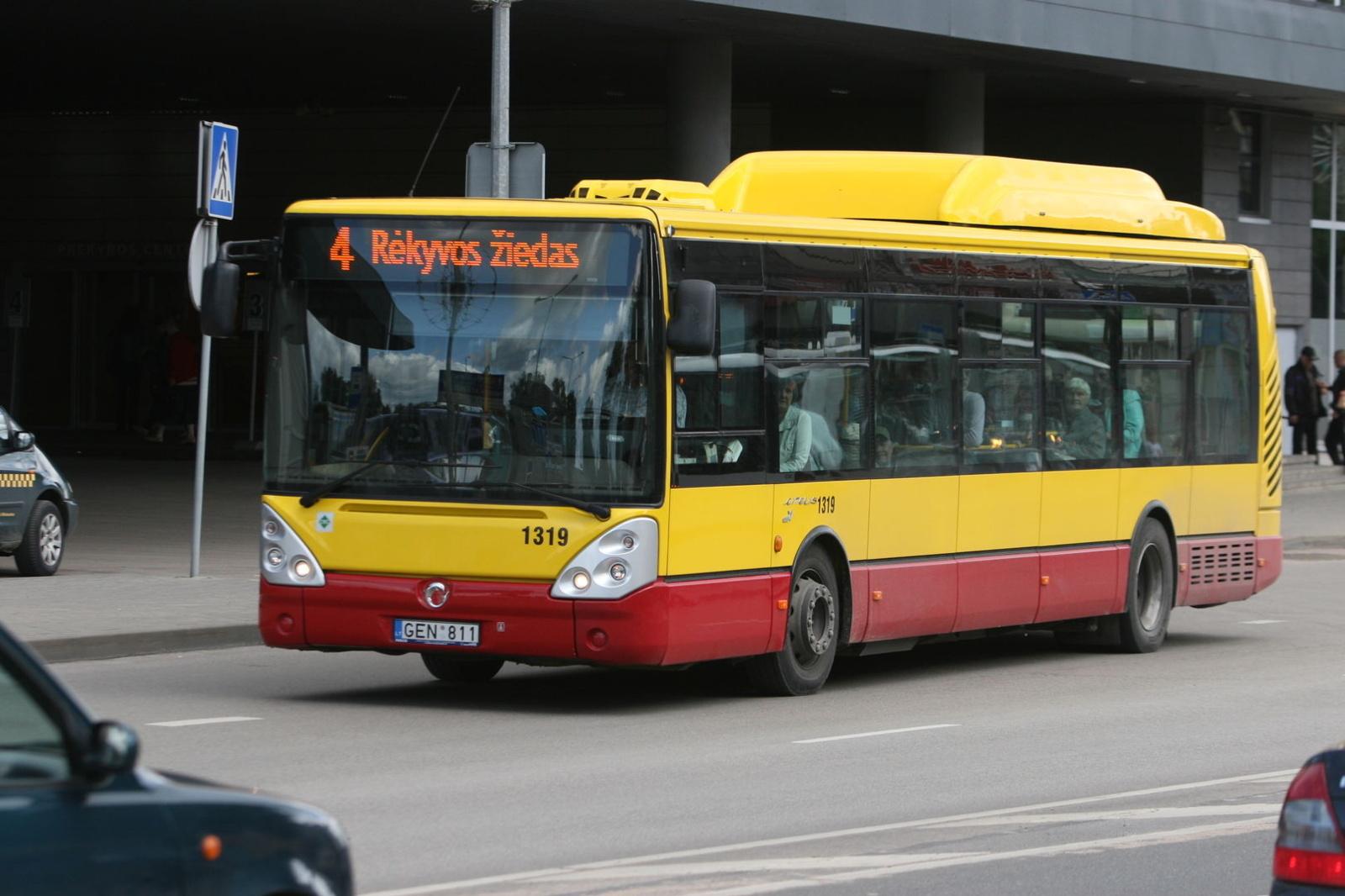 Šiaulių miesto viešojo transporto naujienos nuo balandžio 1 dienos