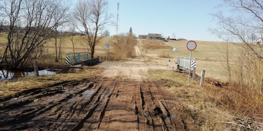 Joneliškio kaime laikinai stabdomas eismas tiltu per Viešos upę