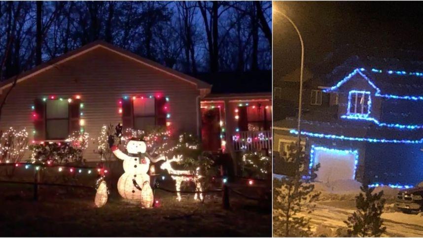 Pasaulyje – kalėdinių lempučių karštinė: pradėjo simbolinę kovą su koronavirusu