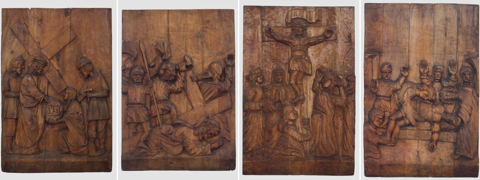 Kunigas skulptorius Kryžiaus kelio stotis dovanojo Šiauliams
