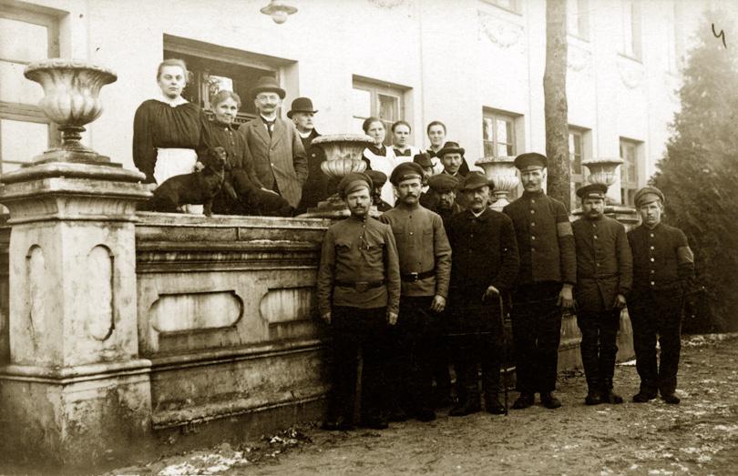 Šilokarčemos dvaro savininkas Hugo Šojus