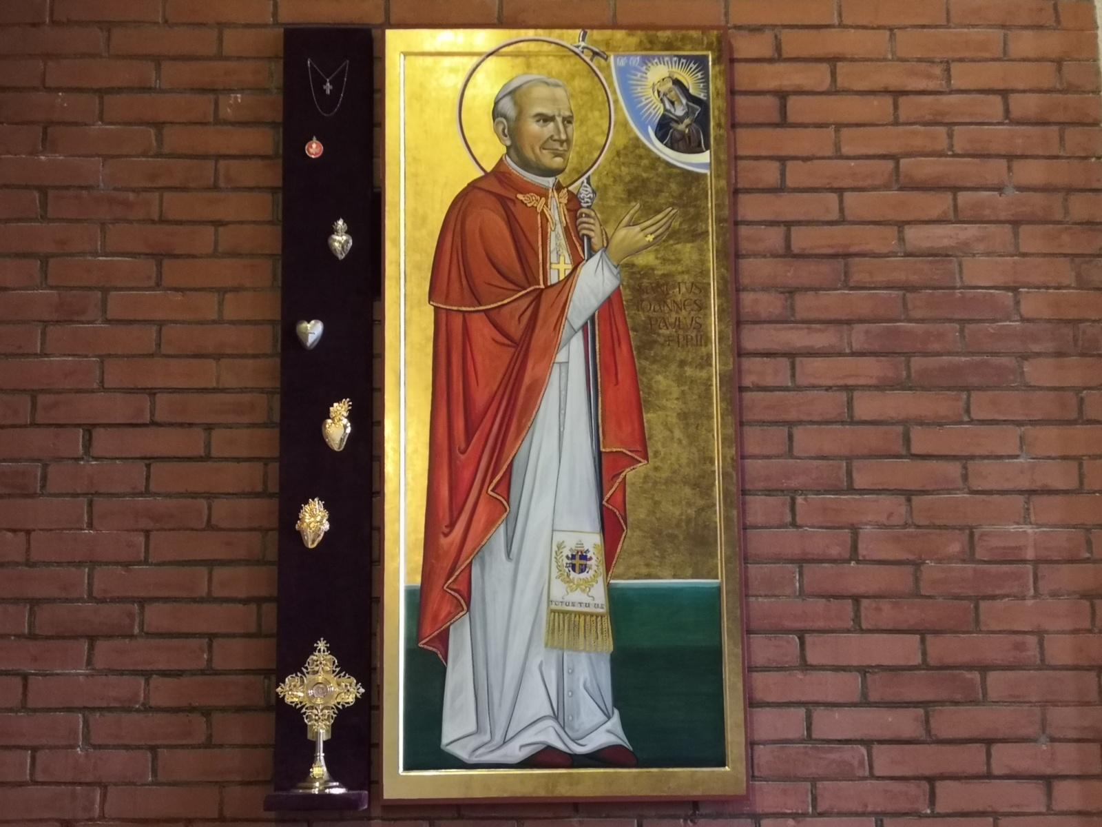 Šiandien minima šv. popiežiaus Jono Pauliaus II-ojo 15 m. mirties sukaktis