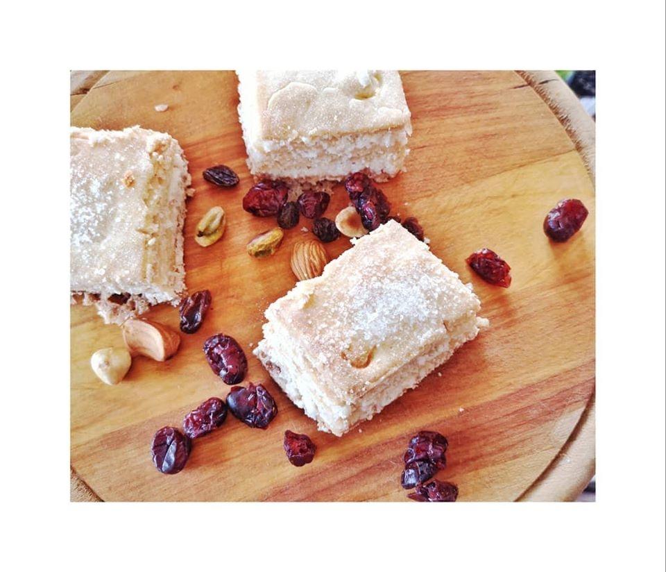 Sausainiai  be gliuteno vos iš penkių ingredientų