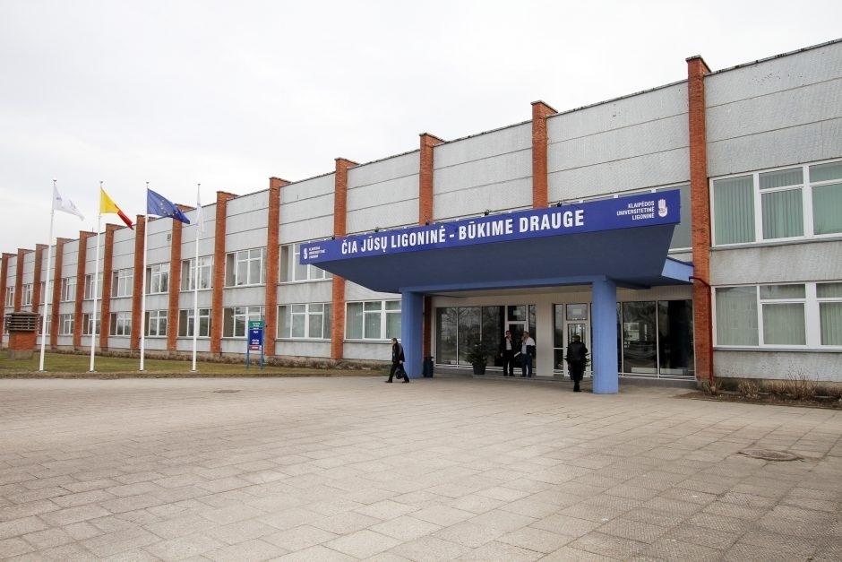 A. Veryga: Klaipėdos universitetinėje ligoninėje nustatyta daug pažeidimų