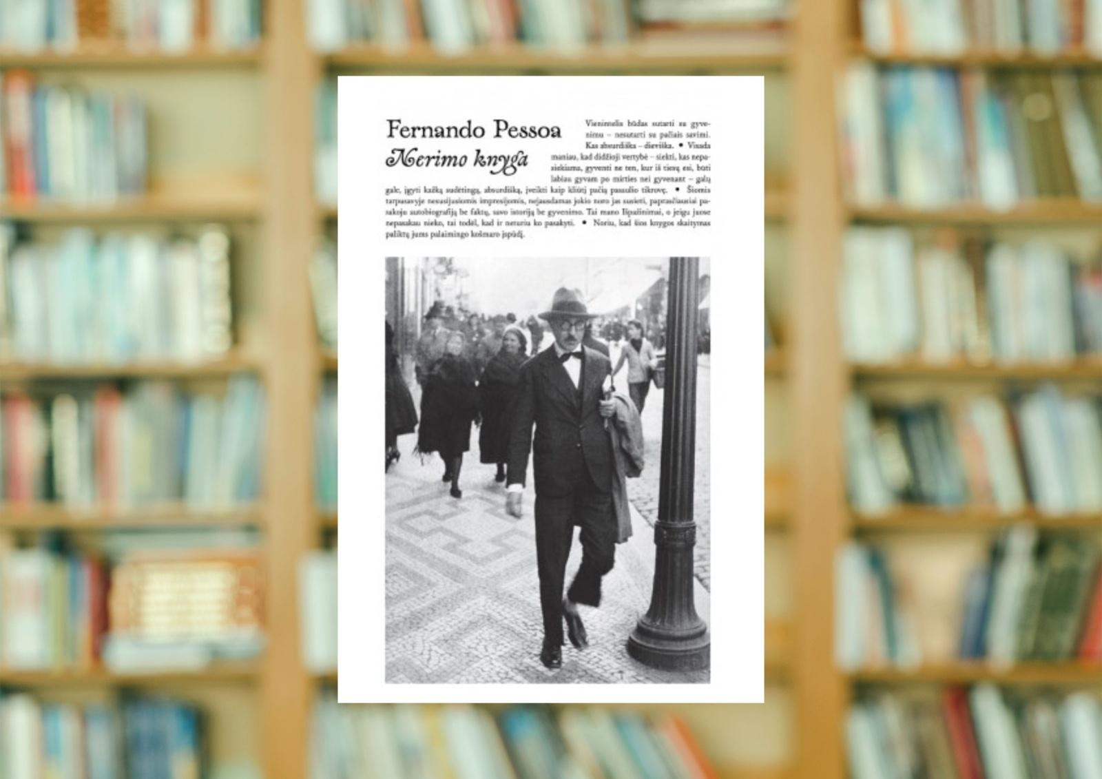 """Fernando Pessoa """"Nerimo knyga"""""""