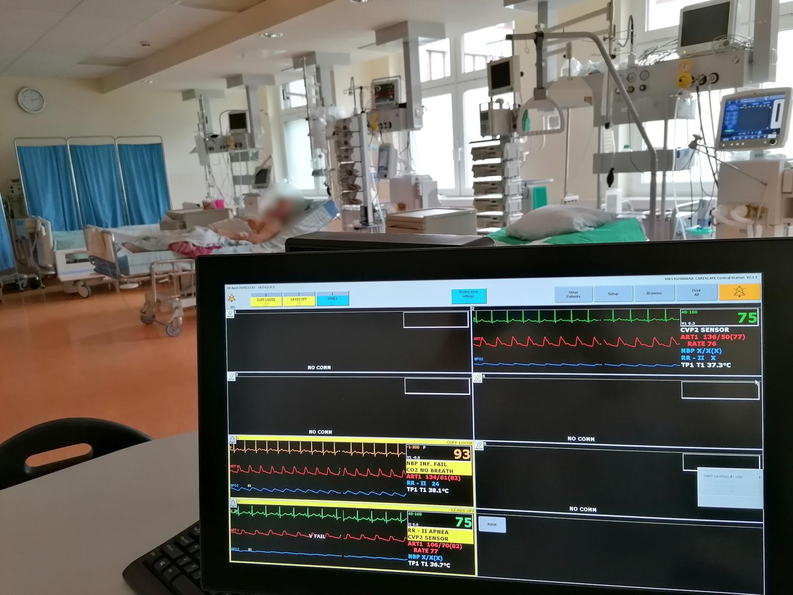 Ligoninėse dėl koronaviruso gydomi 69 asmenys, iš jų septyni – reanimacijoje