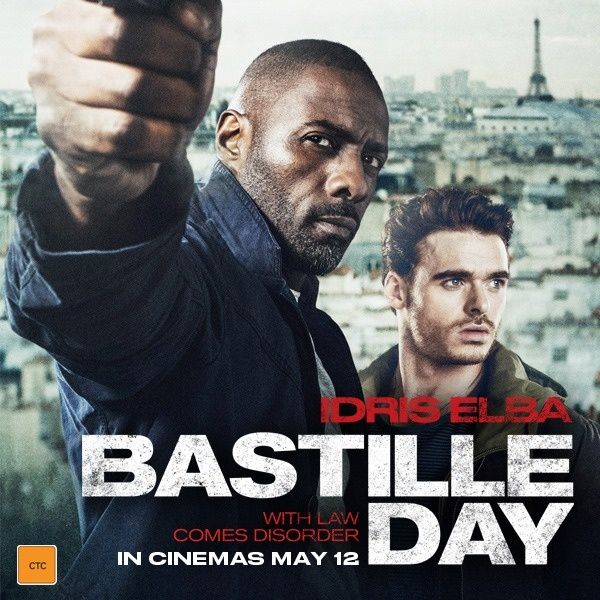 "Filmo apžvalga: ""Bastille Day"" (2016)"