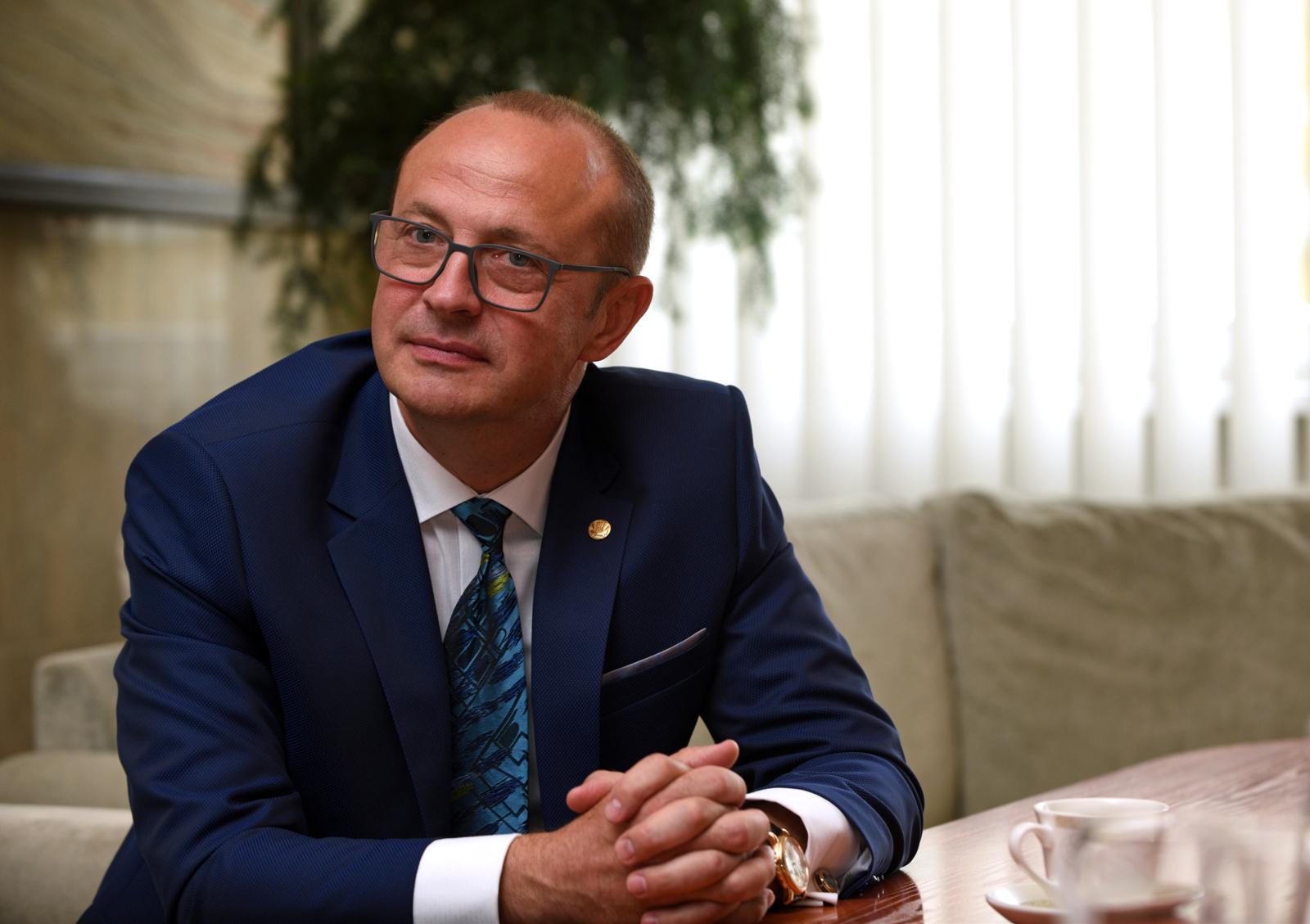 Pokalbis su Druskininkų savivaldybės meru Ričardu Malinausku (vaizdo įrašas)