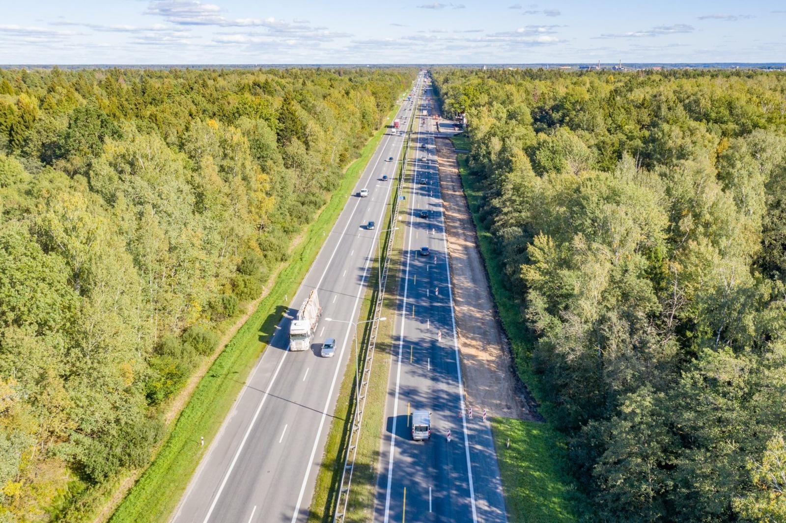Pradedama beveik 43 mln. eurų kainuosianti A1 kelio atkarpos Vilnius-Kaunas rekonstrukcija