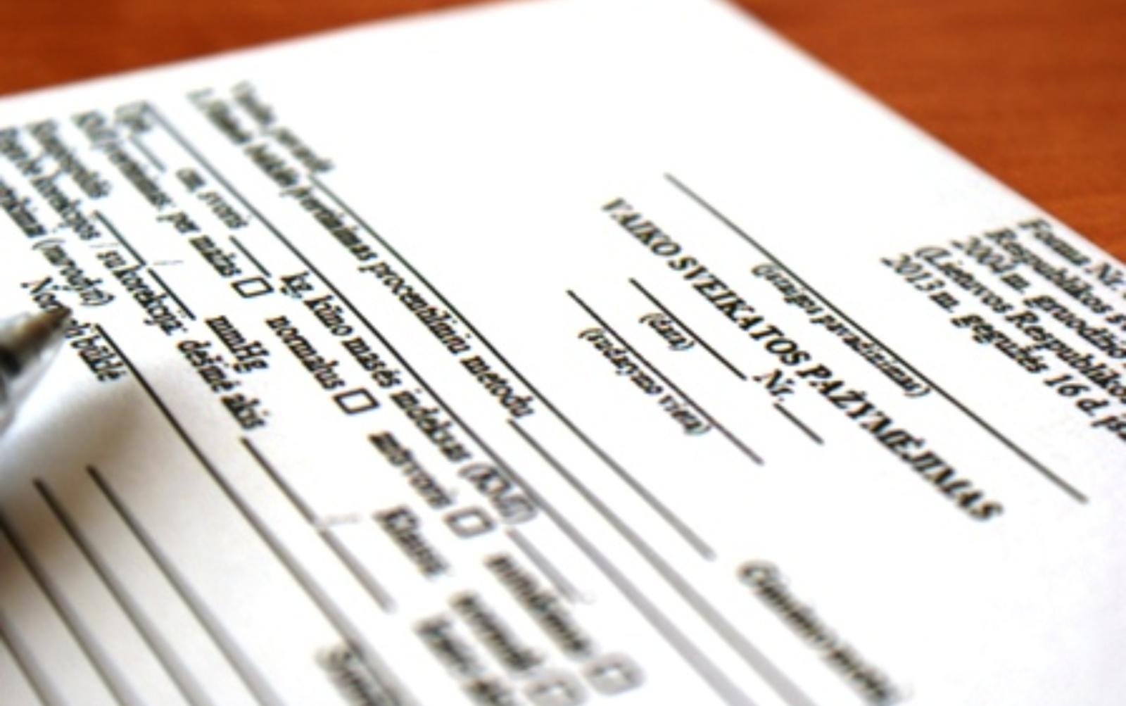 Laikinai nebus taikomas reikalavimas turėti galiojantį Mokinio sveikatos pažymėjimą