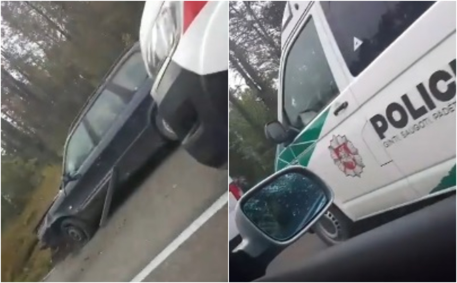 Varėnos rajone vairuotojas nesuvaldė automobilio