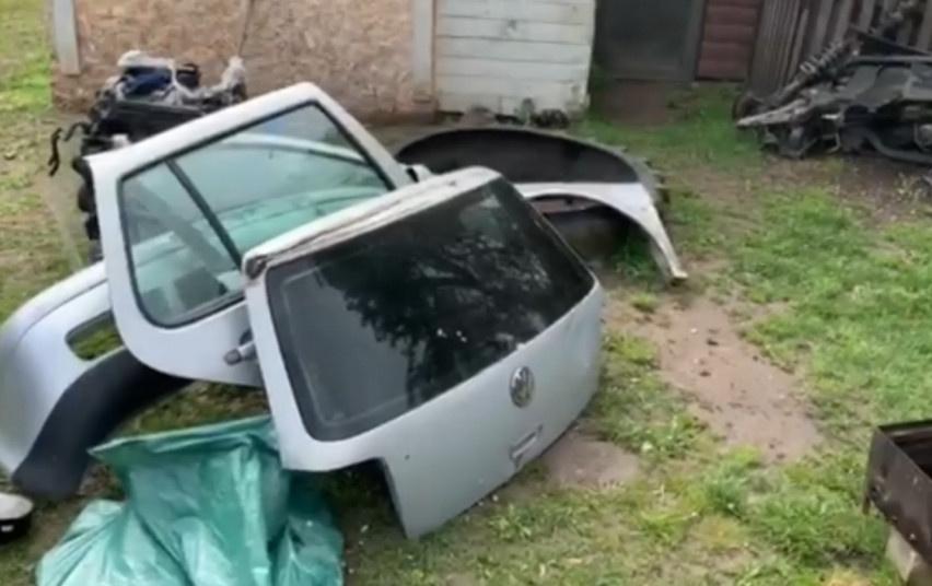 Kaune sulaikyti trys įtariamieji automobilių vagystėmis (vaizdo įrašas)