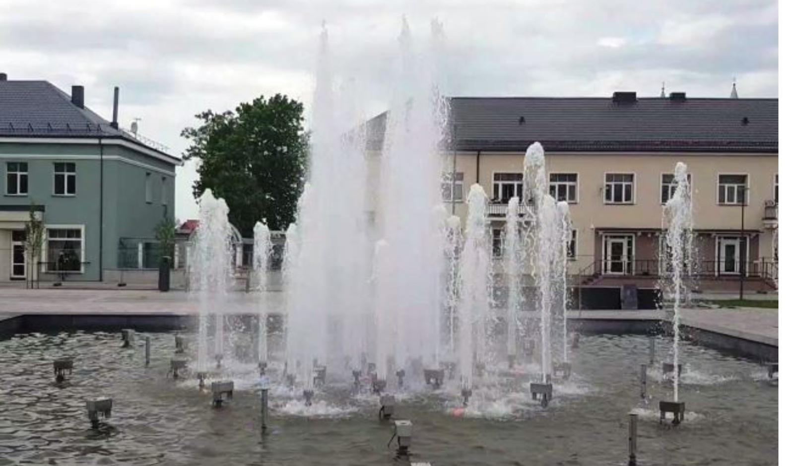 Kupiškio miesto fontanas džiugins lankytojus nemokamais pasirodymais dažniau