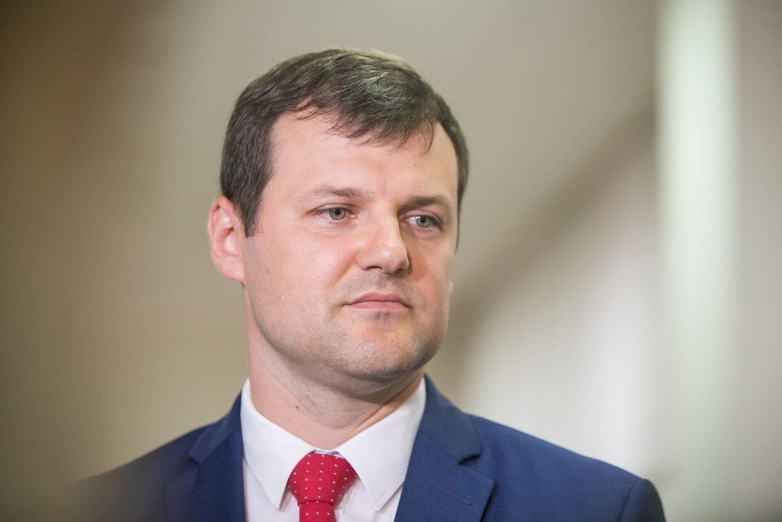 Socialdemokratų lyderis G. Paluckas į Seimą ketina kandidatuoti Utenoje