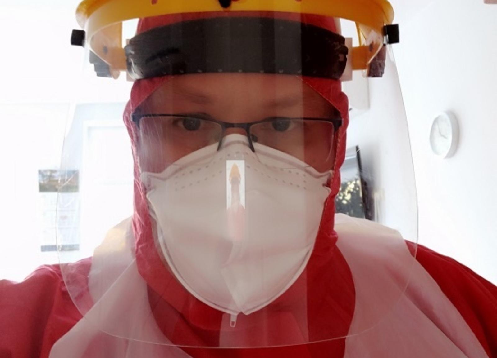 Gydytojas-psichiatras Donatas Miezenas – apie darbą kovidiniame skyriuje uždarius Ukmergės ligoninę