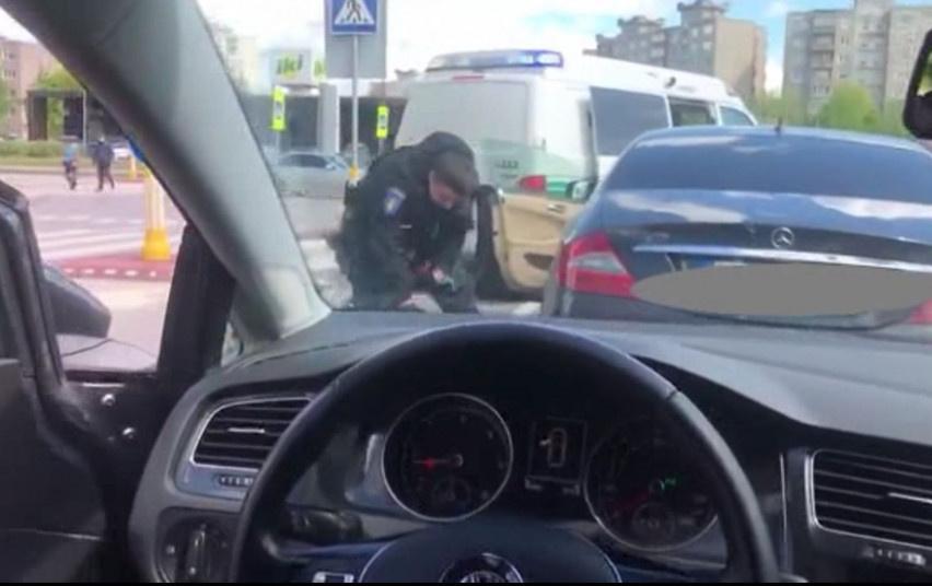 Suimti du įtariamieji - padegęs automobilį bei nurodęs tai padaryti