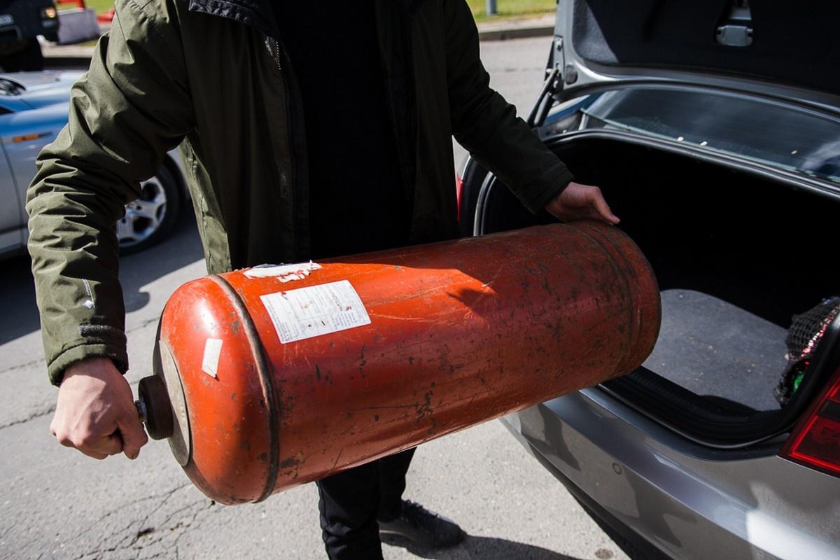 Gaisrai nuo dujų balionų Panevėžio rajone – retenybė