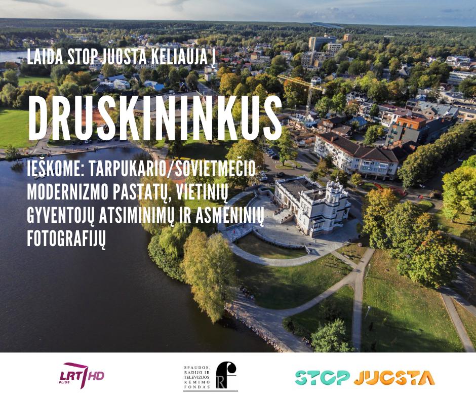 """LRT PLIUS laida """"Stop juosta"""" modernizmo ieškos Druskininkuose"""