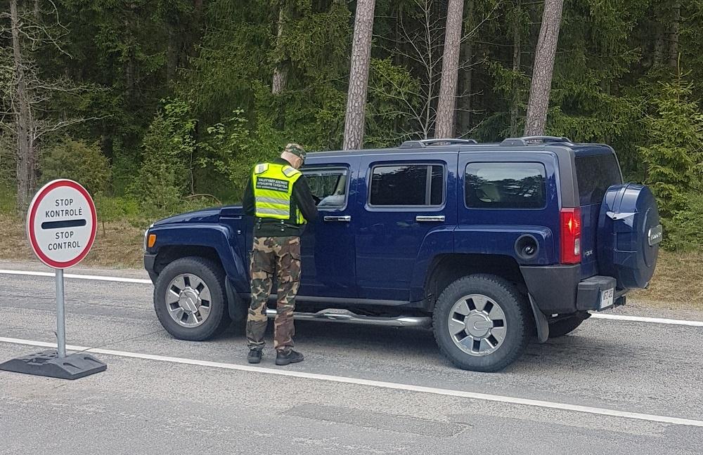 Kretingoje avariją sukėlęs latvis bandė sprukti į savo šalį
