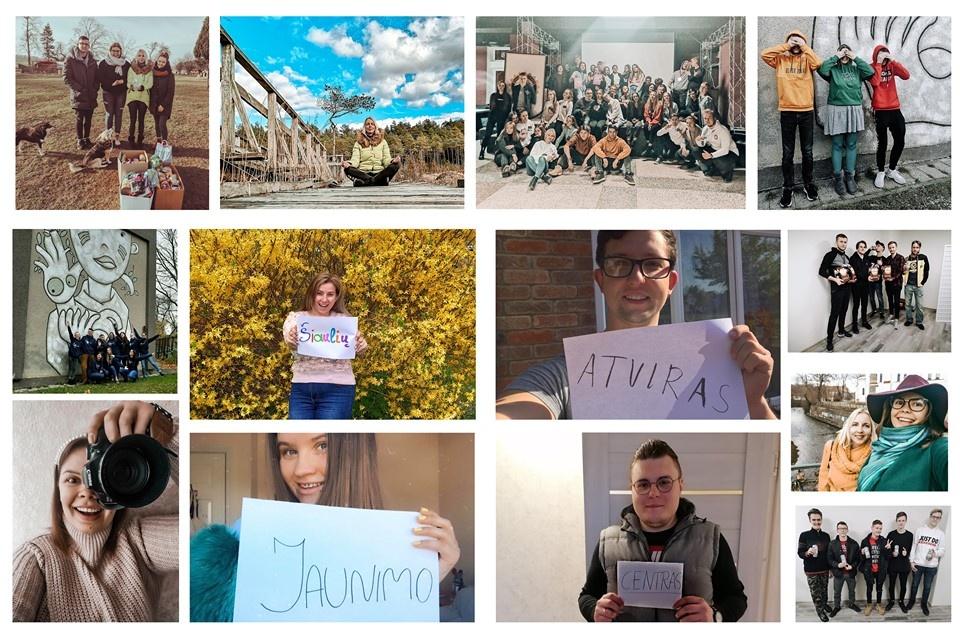 Kviečiame Šiaulių miesto jaunimą dalyvauti projekto veiklose