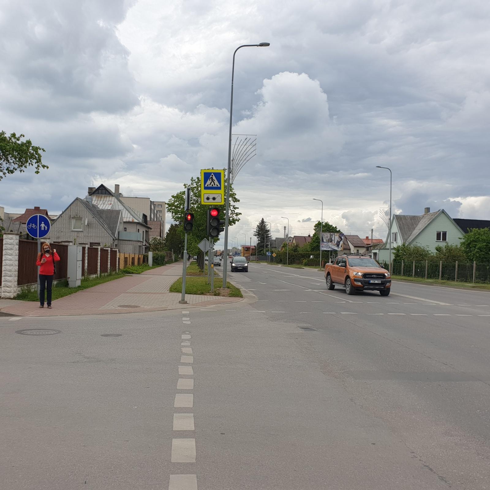 Tauragėje siekiant gerinti eismo saugumą – eismo pasikeitimai