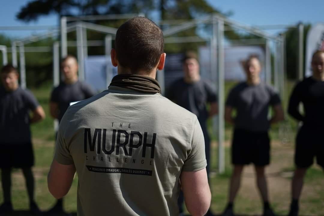"""Pasaulinio masto renginys """"The Murph challenge 2020"""""""