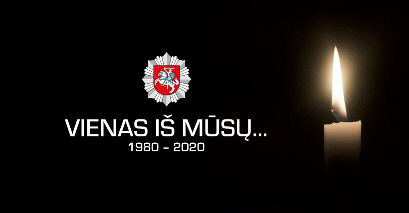 Lietuvos policija – jautriai apie žuvusį kolegą ir pavojingą darbą