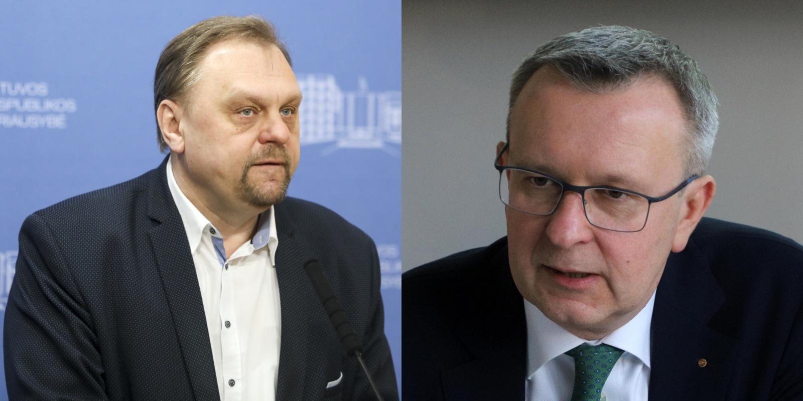 V. Sutkus ir M. Zalatorius sulaikyti tiriant neteisėtą poveikį teisėkūrai