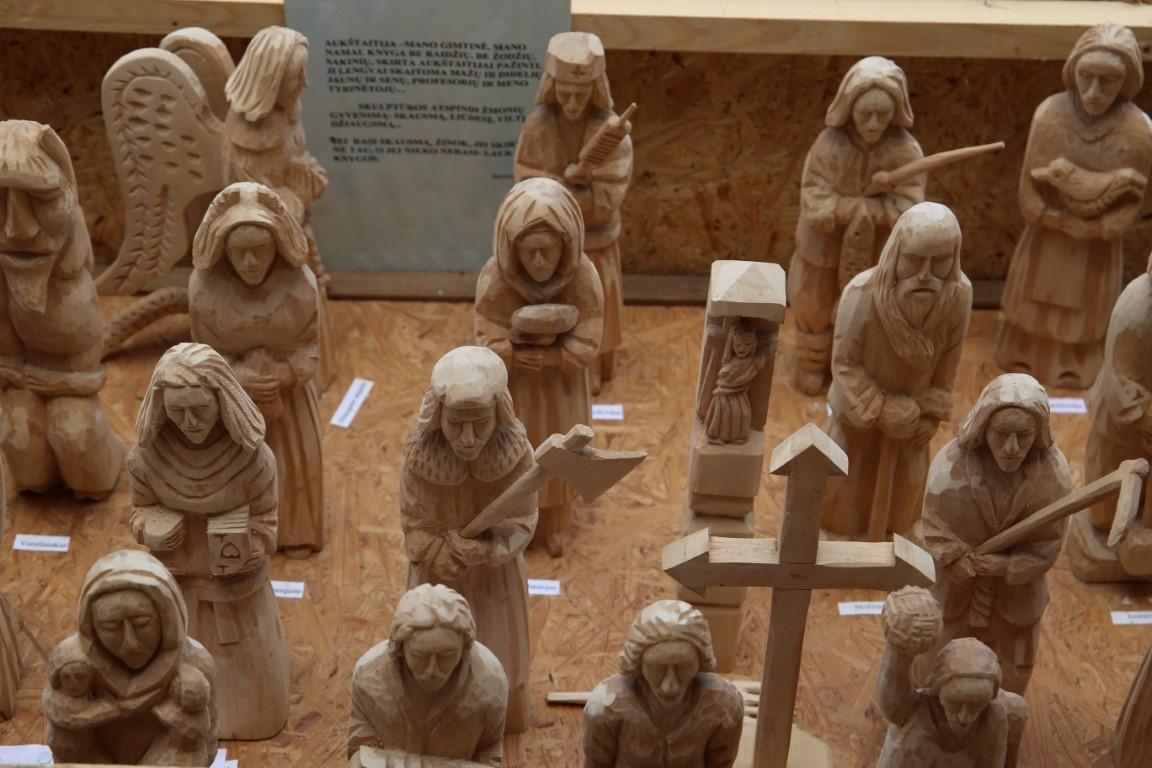 Muziejus įsigijo Prano Kaziūno drožinių