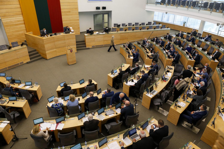 Seimas pritarė G. Nausėdos siūlymui dėl vienkartinių išmokų vaikams