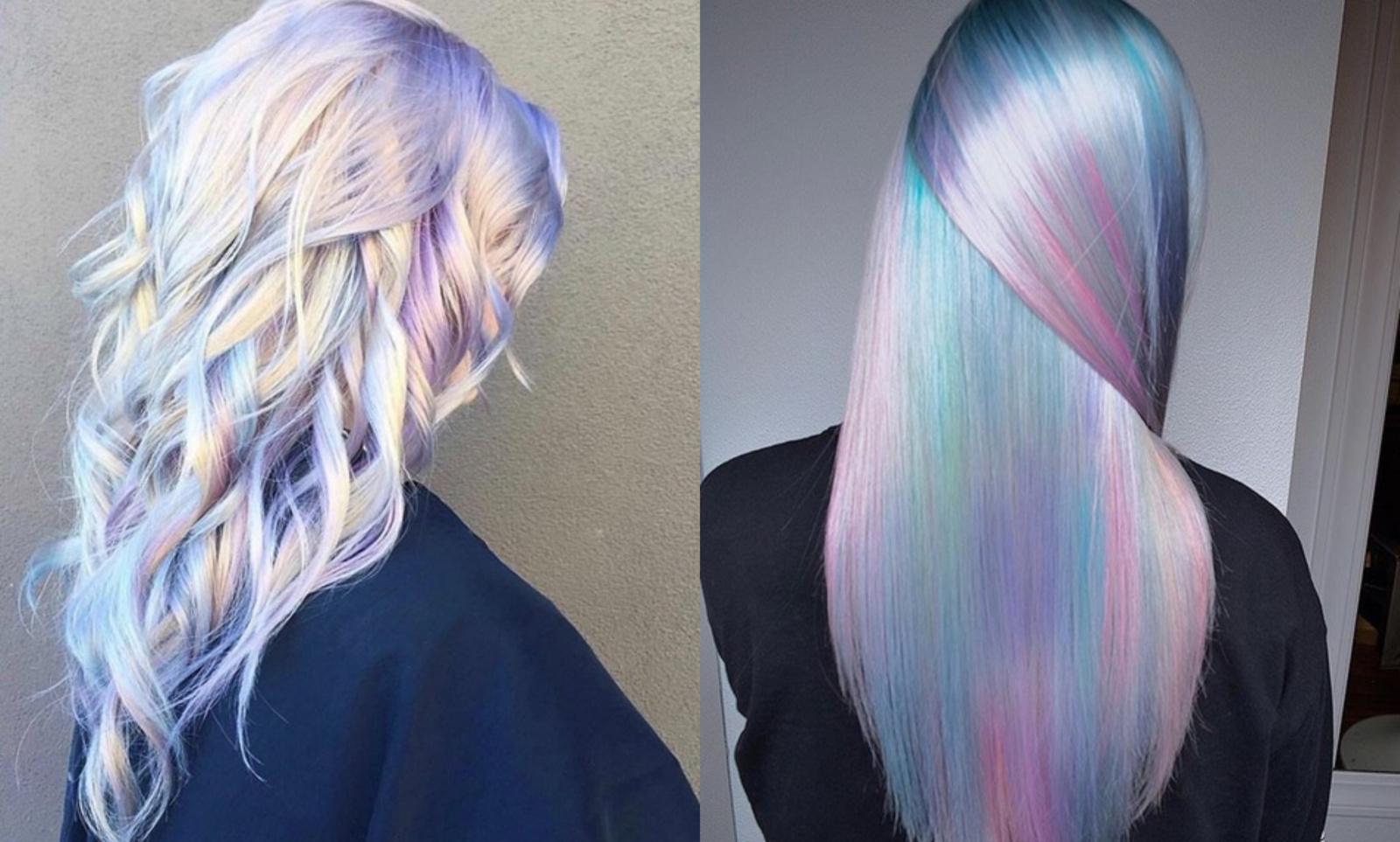 Naujausias mados klyksmas: holografiniai plaukai