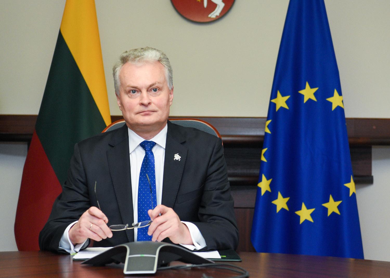 G. Nausėda kalbėjosi telefonu su S. Cichanouskaja