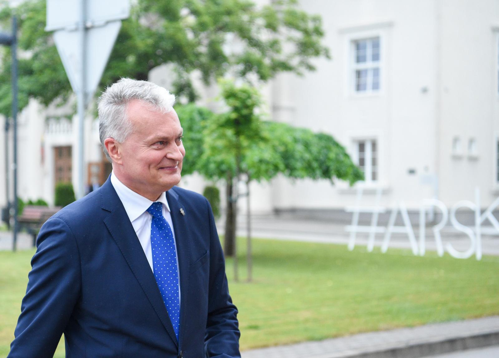G. Nausėda ketina dalyvauti gyvoje grandinėje nuo Vilniaus iki Baltarusijos sienos