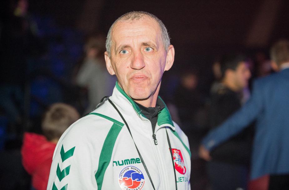 Neįprastose bokso varžybose – sidabro medalis D. Katkevičiui