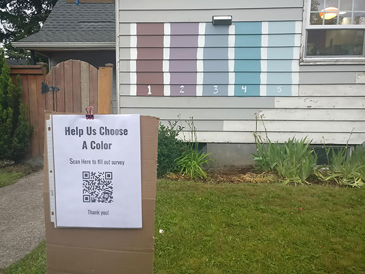"""Kaimynai prašo: """"Padėkite  išsirinkti spalvą namui"""""""