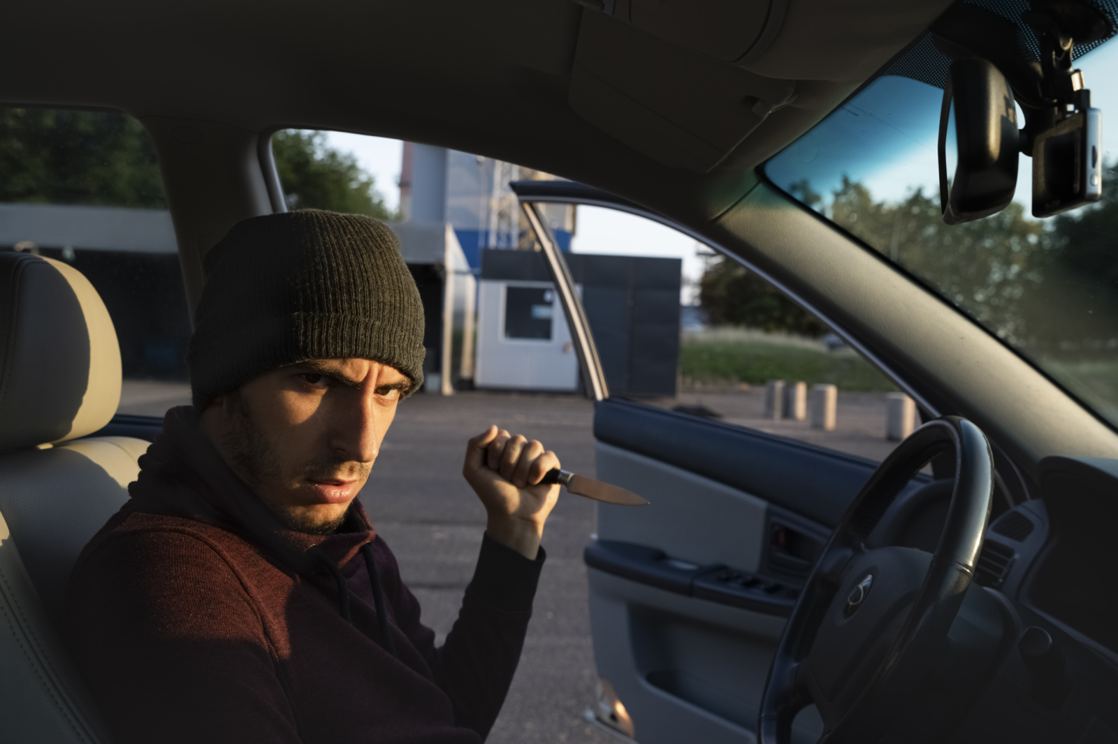 Kretingos rajone pavogtas automobilis
