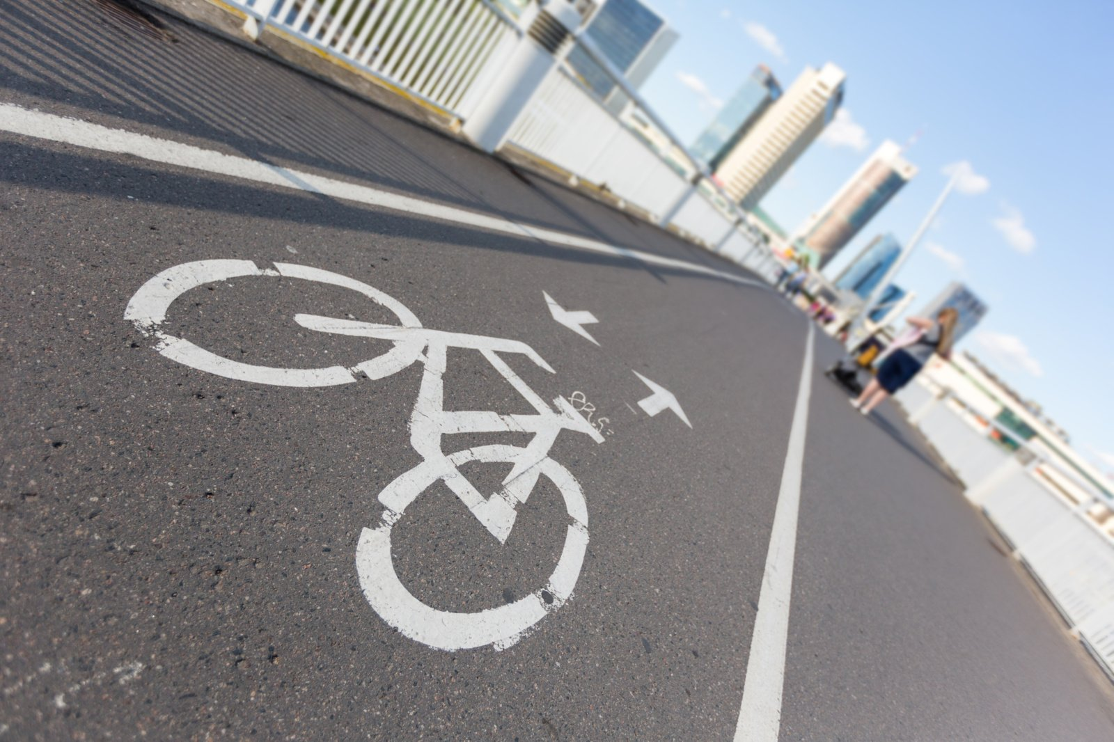 Pritarta bendradrabiavimo sutarčiai dėl dviračių tako sutvarkymo darbų